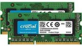 Crucial CT2KIT102464BF160B 16GB DDR3 SODIMM 1600MHz (2 x 8 GB)