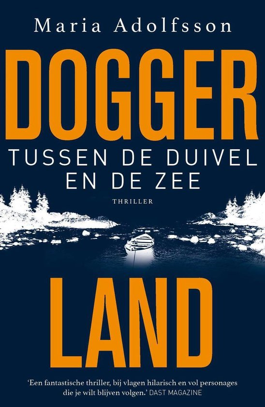 Boek cover Tussen de duivel en de zee van Maria Adolfsson (Onbekend)