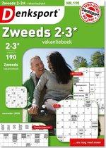 Denksport Zweeds 2-3* vakantieboek editie 190