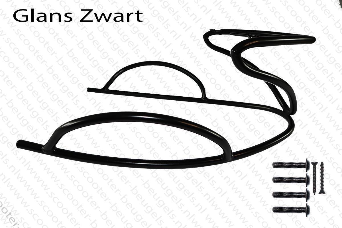 Zip Achterbeugel   Piaggio zip 2000  Zip valbeugels   (Achterzijde) Glans