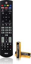 IKAZ®Universele afstandsbediening Philips TV Inclusief batterijen Televisie  Smart TV Televisie Remote control