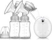 Elektrische dubbele borstkolf kolfapparaat - 2 kolven -BPA-Vrij - 150 ml
