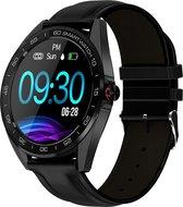 Ciforce® Gx4L Stappenteller/Hartslagmeter horloge - Sporthorloge  - Stappenteller horloge dames - Bluetooth - Met bel/berichten functie - Zwart