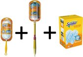 Swiffer Duster + XXL Duster Stofmagneet DELUXE kit met 17 navullingen