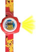 Pokémon horloge met projectie functie, Pikachu,