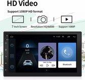 2 Din - Dubbel Din - navigatie - Android 10.1 - achteruitrijcamera- Navigatie - WIFI - Autoradio