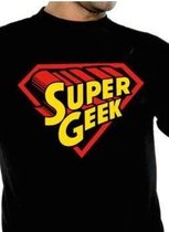 GEEK Collection - T-Shirt SUPERGEEK (M)