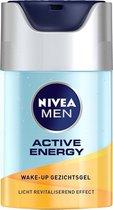 NIVEA MEN Active Energy Wake-up Gezichtsgel - 50 ml