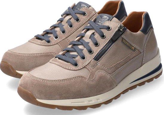 Mephisto BRADLEY Heren Sneaker - Warmgrijs - Maat 38.5