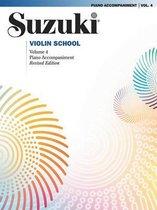 Suzuki Violin School, Vol 4 : Piano Acc.