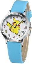Pokémon horloge met glow in the dark wijzers