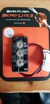 "Original Mega-Flash Micro-Lite3 Orange flisers ""The Best"" Alarm Led verlichting tbv Zwaailamp flitslamp"