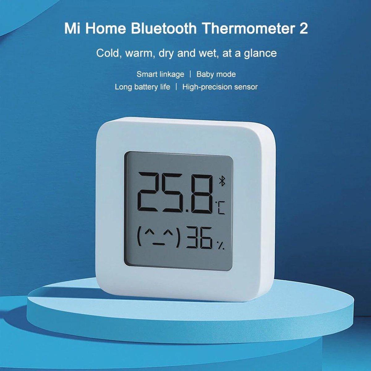 Xiaomi Mijia   Thermometer   Hygrometer   Binnen   Inclusief Batterij   Bluetooth