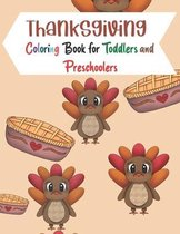 Thanksgiving Coloring Book for Toddlers and Preschoolers