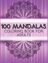 100 Mandalas coloring book for adults