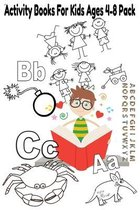 Activity Books For Kids Ages 4-8 Pack