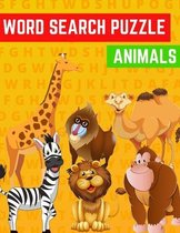 Word Search Puzzle Animals