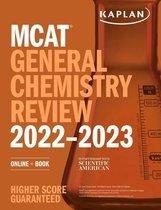 Boek cover MCAT General Chemistry Review 2022-2023 van Kaplan Test Prep