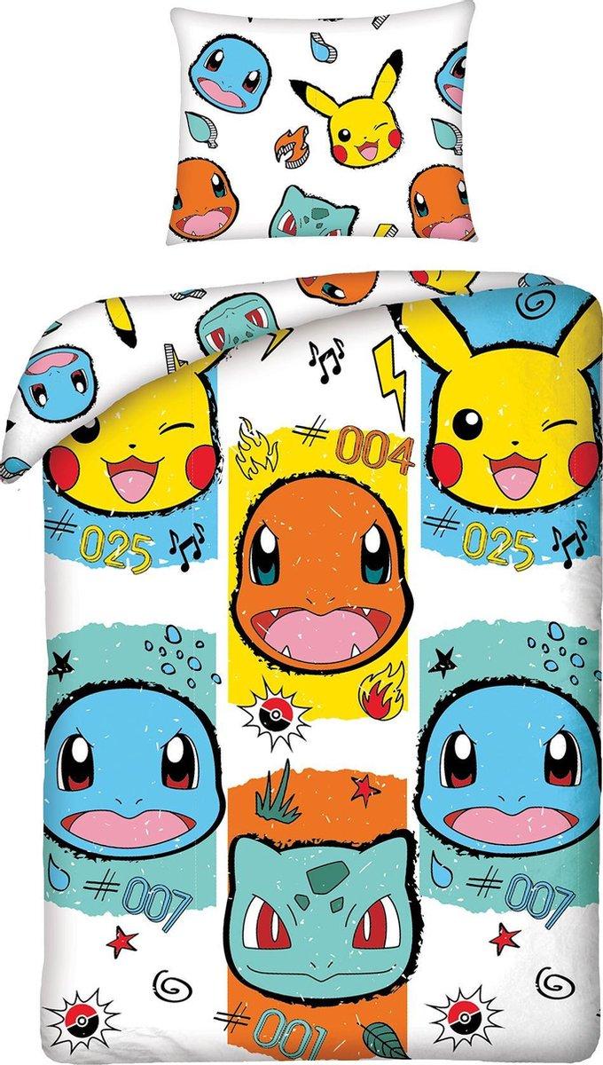 Dekbedovertrek Pokemon Pikachu 140x200+70x90 Katoen Pokémon kopen