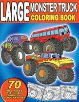 Large Monster Truck Coloring Book