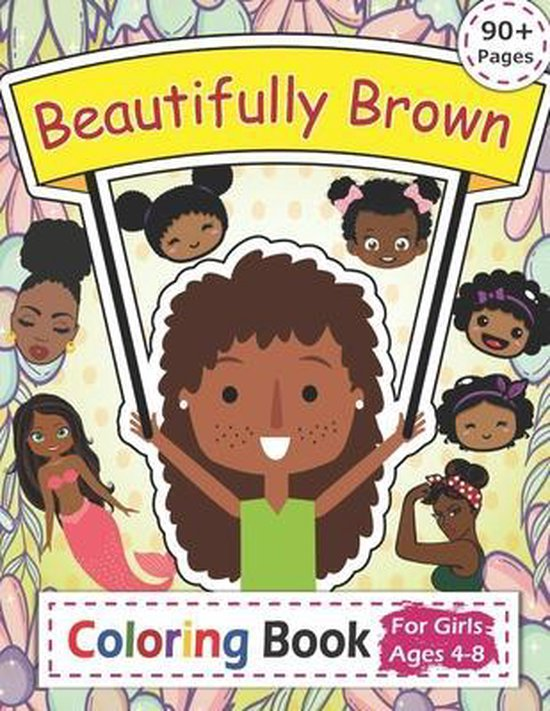 Beautifully Brown Coloring Book
