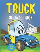 truck Dot to Dot Book Ages 6-9