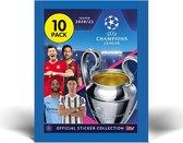 Topps - Champions League Stickers 2020/21- voordeel pack 30 zakjes