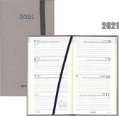 Afbeelding van Brepols agenda 2021 - SOFT - Interplan - Taupe - 7d/2p - 6talig - 9 x 16 cm