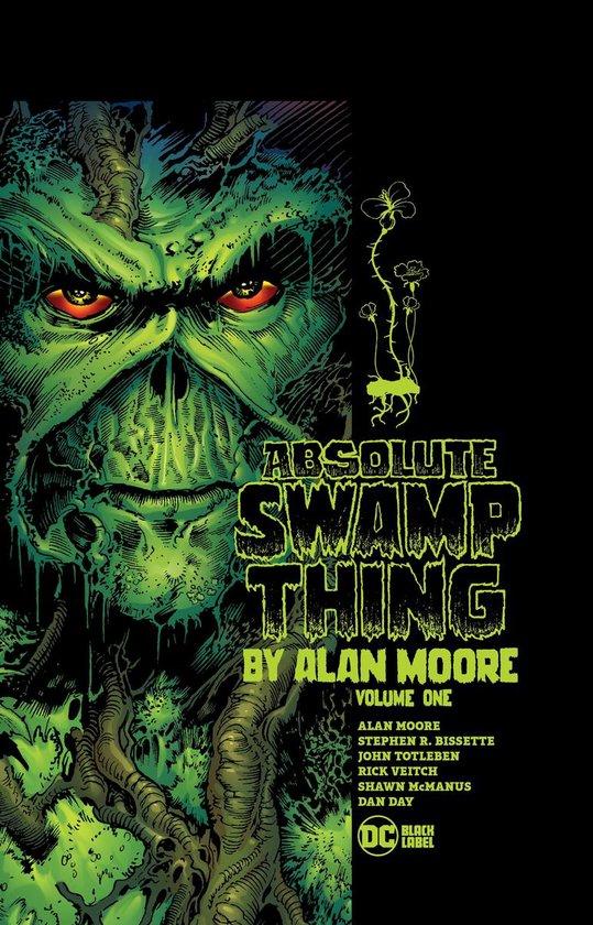 Boek cover Absolute Swamp Thing by Alan Moore Volume 1 van Alan Moore (Paperback)