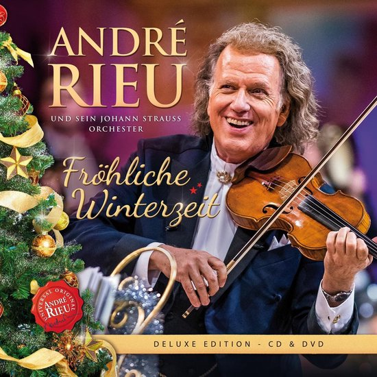 CD cover van Frohliche Winterzeit van André Rieu