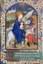 Fitzwilliam Museum Notecard Kerst ~ Kaartenmapje Illuminated Manuscripts