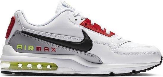 Nike Air Max LTD3 Sneaker - Wit/Rood/Zwart - maat 44,5