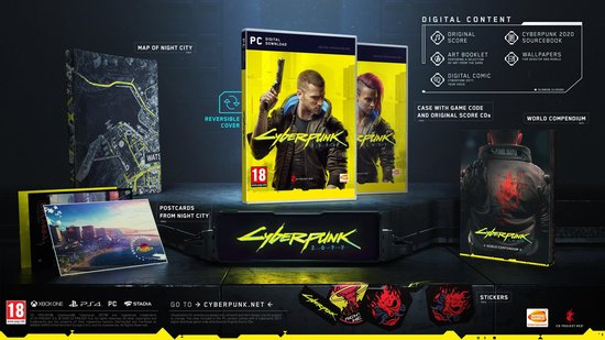 Cyberpunk 2077 - Day One Edition - PC (Voucher in Box)