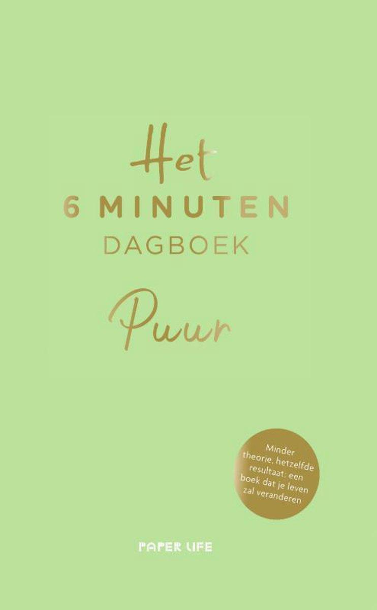 Het 6 minuten dagboek  -   Het 6 minuten dagboek - PUUR