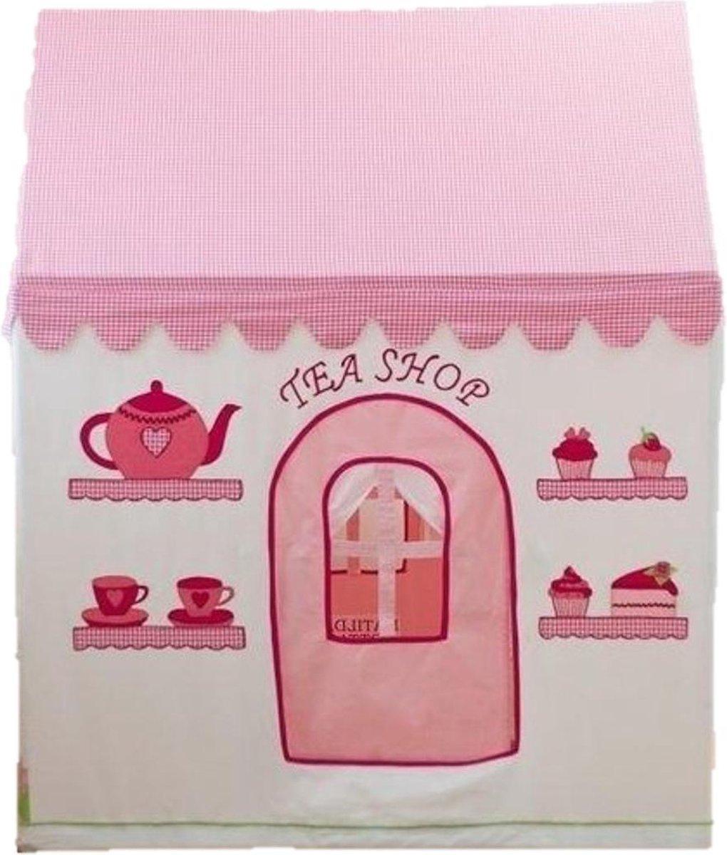 Rose Cottage & Tea Shop Speelhuis + Quilt (Klein)