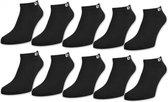 Pierre Cardin sneakersokken. Multipack Unisex Maat 43-46 - Zwart