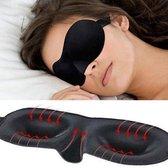Slaapmasker Deluxe - Black Eye Mask