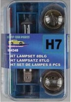 Pro+ Autolamp Set H7 / 12 V (8 Delig)