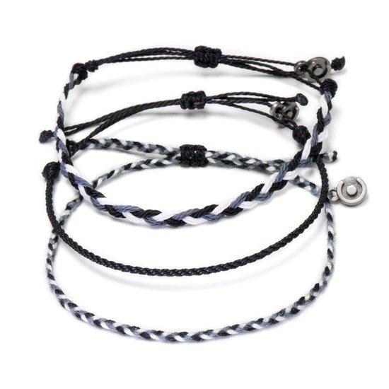 Chibuntu® - James Bond Armband Set Heren - Armbanden Set collectie - Mannen - Armband (sieraad) - One-size-fits-all