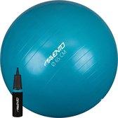 Avento Fitness/Gymbal + Pomp - Ø 65cm - Blauw