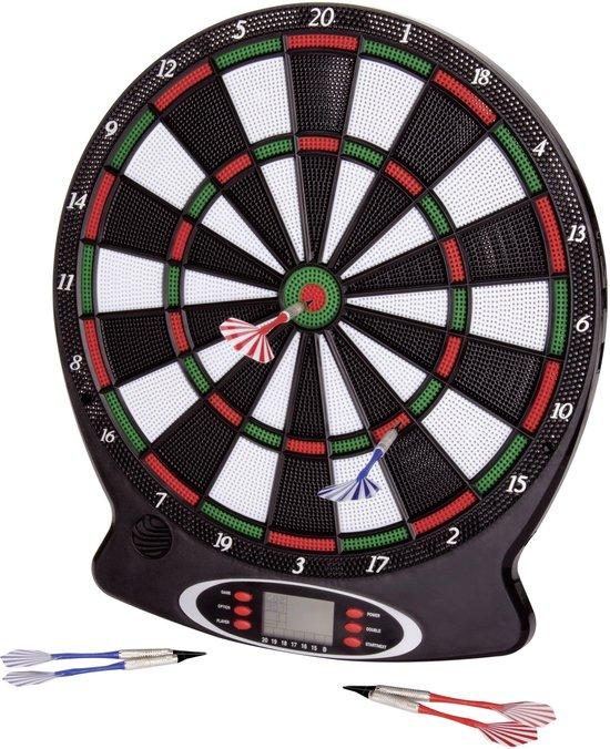 Afbeelding van het spel dartbord new sports electronisch incl 6 pijlen