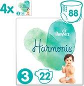 Pampers Harmonie / Pure Maat 3 (6-10 kg) 88 luiers