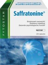 Fytostar Saffratonine – Voor positieve instelling – Voedingssupplement bij stress of negatieve gevoelens – 120 capsules