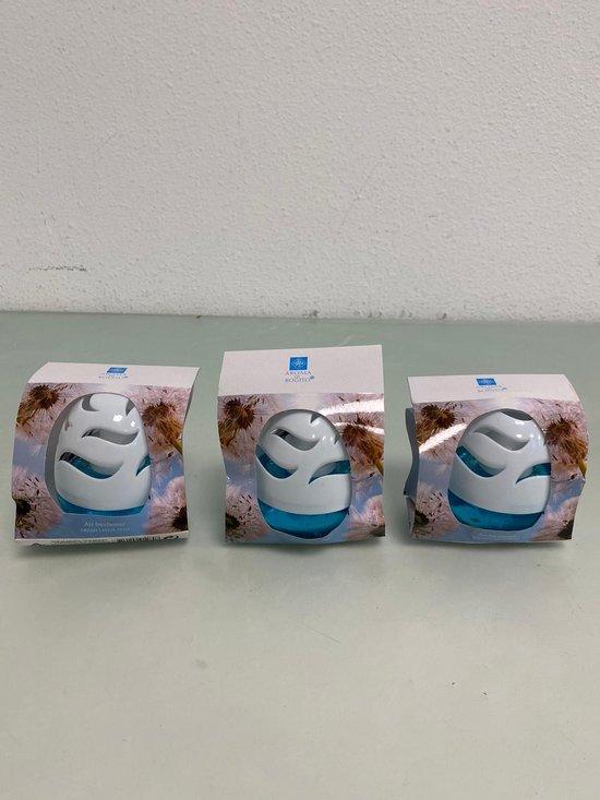 Aroma: luchtverfrisser 75 ml - set van 3 stuks (fresh linen)