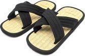 Fuji Mae Luxe Rijststro X-Zori slippers Maat: 40