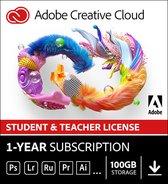 Adobe Creative Cloud Student & Docent - 1 Appa