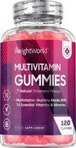 Multivitamine Gummies - 14 vitamines en mineralen - Voor kinderen, mannen en vrouwen - 120 Gummies