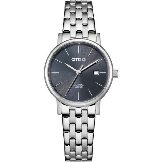 Citizen Horloge – Citizen dames horloge – Zilver – diameter 28 mm – roestvrij staal