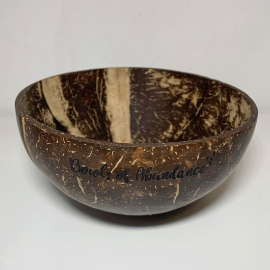 Bowls of Abundance - Coconut Bowl - Eco-friendly - Kokosnoot kom - Kokosnoot schaal - Sustainable - Duurzaam