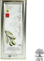 Olijfolie Manolakis Premium extra vierge 5 liter van Kreta.